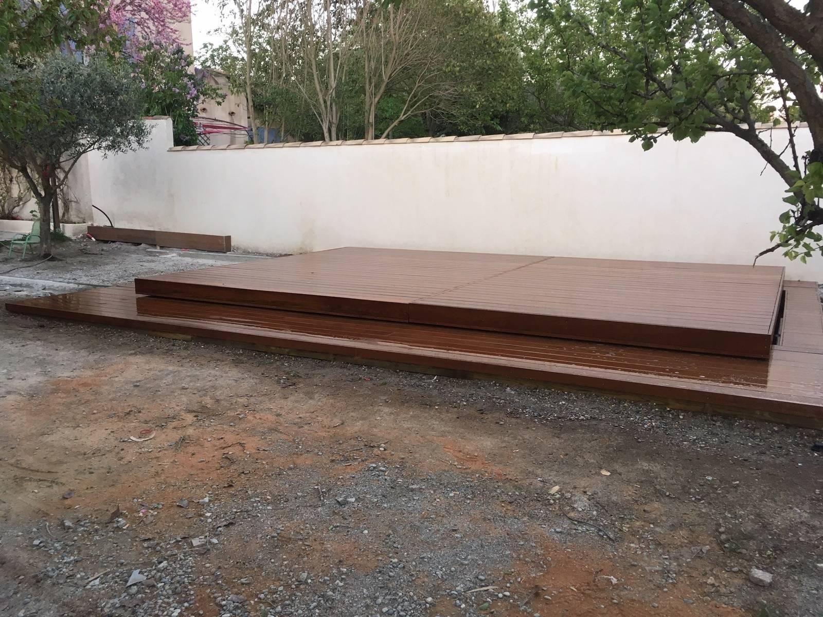 Terrasse Amovible Pour Piscine Rolling Deck Atelier